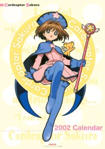 Rating: Safe Score: 9 Tags: card_captor_sakura dress kero kinomoto_sakura madhouse tagme thighhighs weapon User: Omgix