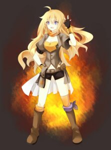 Rating: Safe Score: 31 Tags: bike_shorts rwby ryo_neko yang_xiao_long User: zero|fade
