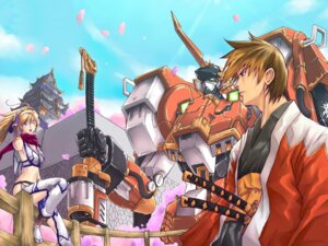 Rating: Safe Score: 6 Tags: alteisen excellen_browning kyousuke_nanbu mecha super_robot_wars wallpaper User: Haitoku