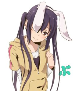 Rating: Safe Score: 70 Tags: animal_ears bunny_ears haine k-on! nakano_azusa open_shirt User: saemonnokami