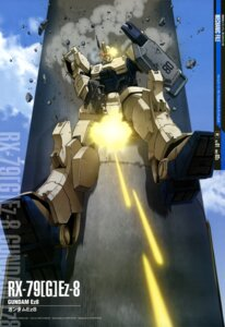 Rating: Safe Score: 19 Tags: gun gundam mecha the_08th_ms_team weapon User: drop