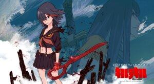 Rating: Safe Score: 27 Tags: kill_la_kill kiryuuin_satsuki matoi_ryuuko seifuku sushio sword User: リナ