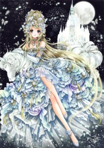 Rating: Safe Score: 25 Tags: cinderella cleavage dress gensoudou heels shiitake User: yong