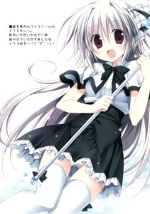 Rating: Safe Score: 45 Tags: iris_freyja juuoumujin_no_fafnir korie_riko mujin_shoujo thighhighs User: Twinsenzw