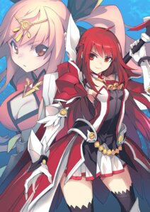 Rating: Safe Score: 45 Tags: armor cleavage elesis elsword octoman sword thighhighs User: Mr_GT