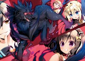 Rating: Safe Score: 9 Tags: monster youta zettai_ni_hatarakitakunai_dungeon_master_ga_damin_wo_musaboru_made User: kiyoe