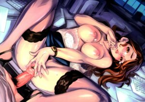 Rating: Explicit Score: 94 Tags: bra censored cum megane nipples nishieda nopan penis pubic_hair pussy sex thighhighs topless User: Nazzrie