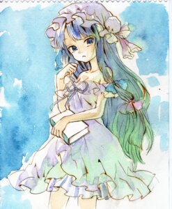 Rating: Safe Score: 14 Tags: ama-tou dress patchouli_knowledge touhou User: Radioactive