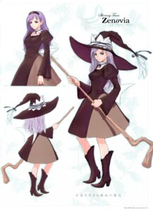 Rating: Safe Score: 15 Tags: character_design dress elf pointy_ears shining_tears shining_world tony_taka witch zenovia User: Share