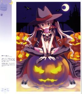 Rating: Safe Score: 22 Tags: halloween ice_&_choco nanao_naru thighhighs User: WtfCakes