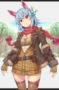 Rating: Safe Score: 29 Tags: animal_ears cleavage komase_(jkp423) thighhighs User: Mr_GT