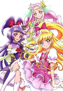 Rating: Safe Score: 14 Tags: asahina_mirai dress haa-chan_(precure) izayoi_riko mahou_girls_precure! pretty_cure User: drop