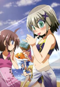 Rating: Safe Score: 6 Tags: bikini mahou_shoujo_lyrical_nanoha material-d material-l material-s swimsuits User: drop