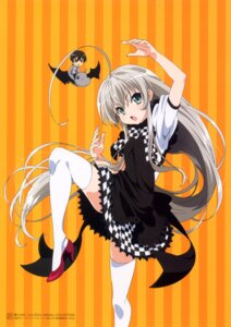 Rating: Safe Score: 34 Tags: haiyore!_nyaruko-san nyaruko shantak-kun thighhighs yasaka_mahiro User: Anonymous