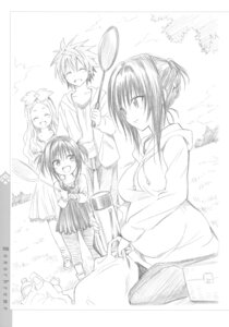 Rating: Safe Score: 39 Tags: celine dress kotegawa_yui monochrome pregnant sketch to_love_ru to_love_ru_darkness yabuki_kentarou yuuki_rito User: Twinsenzw