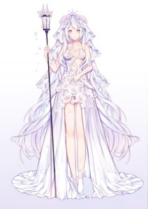 Rating: Safe Score: 72 Tags: dress miyuki_(miyuki_05290) no_bra weapon wedding_dress User: Mr_GT