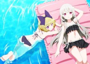 Rating: Safe Score: 56 Tags: ass bikini erie jpeg_artifacts sophie_twilight swimsuits tagme tonari_no_kyuuketsuki-san wet User: yanis