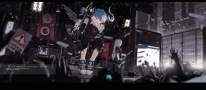 Rating: Safe Score: 45 Tags: guitar hatsune_miku mivit vocaloid User: Noodoll