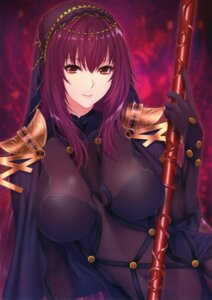 Rating: Safe Score: 36 Tags: armor bodysuit fate/grand_order scathach_(fate/grand_order) weapon zucchini User: eccdbb