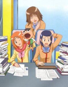 Rating: Safe Score: 5 Tags: gokujou_seitokai ichikawa_mayura katsura_seina pucchan randou_rino User: Radioactive