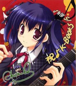 Rating: Safe Score: 22 Tags: guitar ikegami_akane paper_texture seifuku User: Share