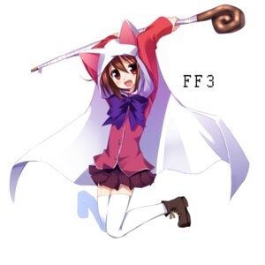 Rating: Safe Score: 13 Tags: animal_ears hoppege nekomimi seifuku User: fairyren
