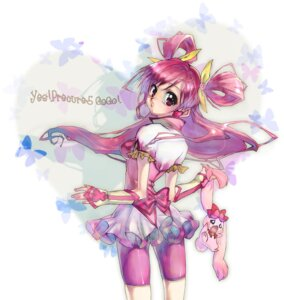 Rating: Safe Score: 16 Tags: bike_shorts dress itou milk_(pretty_cure) pretty_cure yes!_precure_5 yumehara_nozomi User: minakomel