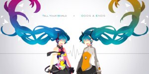 Rating: Safe Score: 16 Tags: hatsune_miku headphones odds_&_ends_(vocaloid) saine tell_your_world_(vocaloid) vocaloid User: Radioactive
