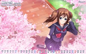 Rating: Safe Score: 6 Tags: calendar kobapyon seifuku skyfish wallpaper User: maurospider
