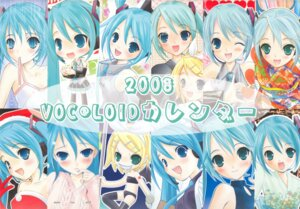 Rating: Safe Score: 7 Tags: calendar hapido hatsune_miku kagamine_rin vocaloid User: Radioactive