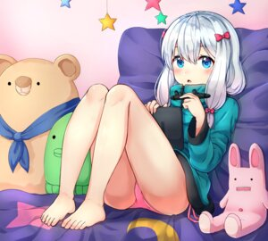 Rating: Questionable Score: 43 Tags: eromanga-sensei feet izumi_sagiri memume pantsu User: Mr_GT