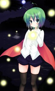 Rating: Safe Score: 22 Tags: snowcanvas thighhighs touhou wriggle_nightbug User: Mr_GT