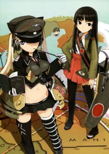 Rating: Safe Score: 38 Tags: headphones shimada_humikane thighhighs User: silentwolf