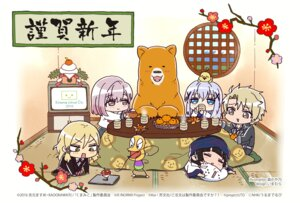 Rating: Safe Score: 15 Tags: chibi crossover gochuumon_wa_usagi_desu_ka? kafuu_chino kumamiko mori_kayano norn9 seifuku tagme under_the_dog User: saemonnokami