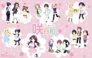 Rating: Safe Score: 5 Tags: dress heels kiyoshi_saya maid pantyhose saki thighhighs wallpaper User: Korino