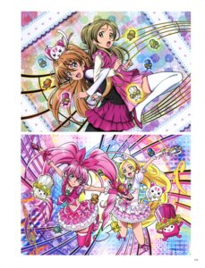 Rating: Questionable Score: 5 Tags: dress houjou_hibiki hummy minamino_kanade pantyhose pretty_cure suite_pretty_cure takahashi_akira thighhighs User: drop