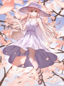 Rating: Safe Score: 34 Tags: cleavage dress summer_dress yagyun User: mash