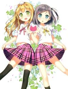 Rating: Safe Score: 100 Tags: azuki_azusa hentai_ouji_to_warawanai_neko kantoku seifuku thighhighs tsutsukakushi_tsukiko User: Twinsenzw