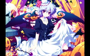 Rating: Safe Score: 20 Tags: frac motomiya_mitsuki remilia_scarlet skirt_lift touhou wallpaper wings User: WtfCakes