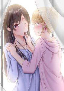 Rating: Safe Score: 28 Tags: aihara_mei aihara_yuzu_(citrus) citrus_(manga) lino valentine yuri User: Spidey