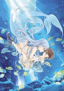 Rating: Questionable Score: 21 Tags: bikini_top megane mermaid monster_girl tail takano_saku yuri User: Radioactive