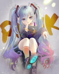 Rating: Safe Score: 26 Tags: hatsune_miku tagme vocaloid User: BattlequeenYume
