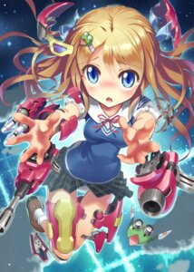 Rating: Safe Score: 42 Tags: armor gun kankurou mecha_musume seifuku User: Radioactive