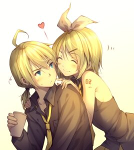 Rating: Safe Score: 32 Tags: kagamine_len kagamine_rin tid vocaloid User: dyj