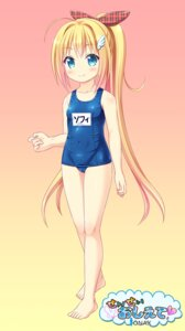 Rating: Questionable Score: 28 Tags: cameltoe feet loli ooizumi_daisaku school_swimsuit swimsuits User: KazukiNanako