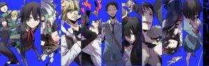 Rating: Safe Score: 14 Tags: awakusu_akane bandages celty_sturluson cleavage don_chang durarara!! heiwajima_kasuka heiwajima_shizuo hijiribe_ruri kado kadota_kyouhei karisawa_erika kazuaki kishitani_shinra megane orihara_izaya orihara_kururi orihara_mairu ryuugamine_mikado seifuku sonohara_anri yagiri_namie yagiri_seiji yumasaki_walker User: charunetra