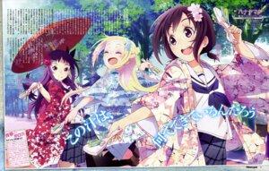 Rating: Safe Score: 41 Tags: hana_n._fontainestand hanayamata kimono sasame_yaya seifuku sekiya_naru User: drop