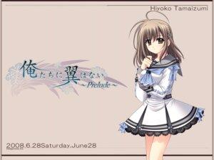 Rating: Safe Score: 9 Tags: nishimata_aoi oretachi_ni_tsubasa_wa_nai tamaizumi_hiyoko wallpaper User: Davison