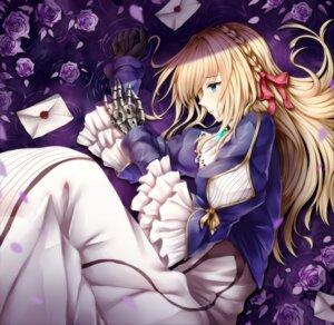 Rating: Safe Score: 35 Tags: dress mecha_musume violet_evergarden violet_evergarden_(character) wsman User: Mr_GT