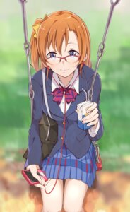 Rating: Safe Score: 35 Tags: haine kousaka_honoka love_live! megane seifuku User: vkun